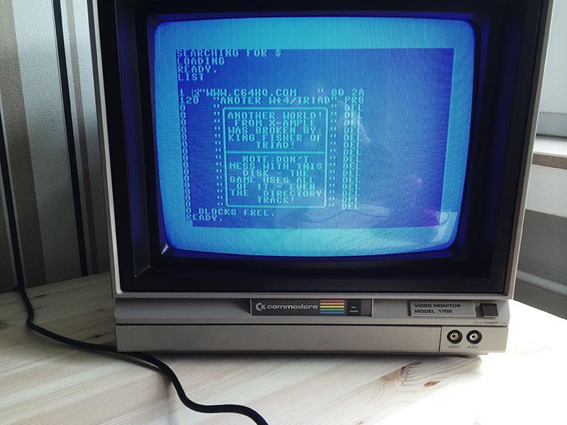 SD2IEC mit gemountetem D64 Image, Basic Prompt. (Bild: Stefan Vogt)
