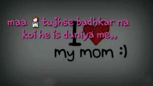 MAA Emiway rap whatsapp status mother's day special