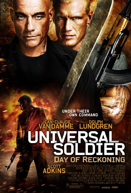 Universal Soldier Day of Reckoning Poster 1