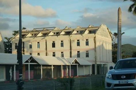 Przykład budynku którego właściciele nie odbudowali z różnych przyczyn
