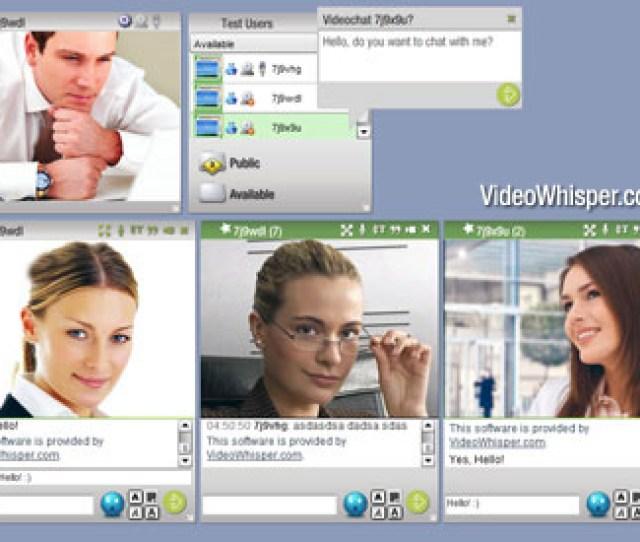 Video Messenger Script Live Web Video Messaging