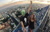 Daredevil Couple Go Skywalking Together In Search For Romantic View