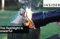 Flashlight Is So Powerful That It Can Cook An Egg