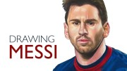 Timelapse Drawing Of Lionel Messi