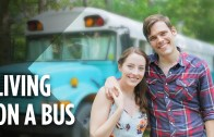 Living Inside A Tiny School Bus