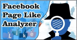 Facebook Like Analyzer