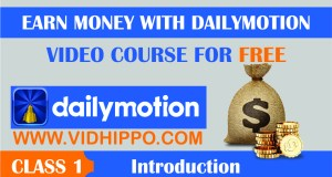 Earn Money With Dailymotion