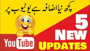 youtube new update
