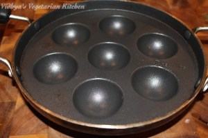 Paniyaaram:Appe Pan