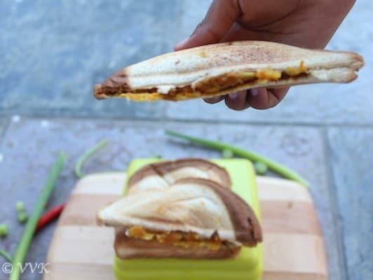 VegetableSandwich