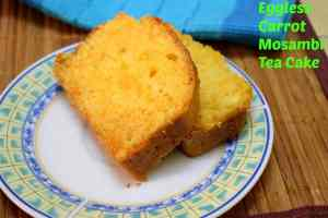 Eggless-Carrot-Mosambi-Tea-Cake
