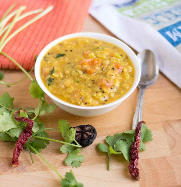 Sweet and Sour Gujarati Dal