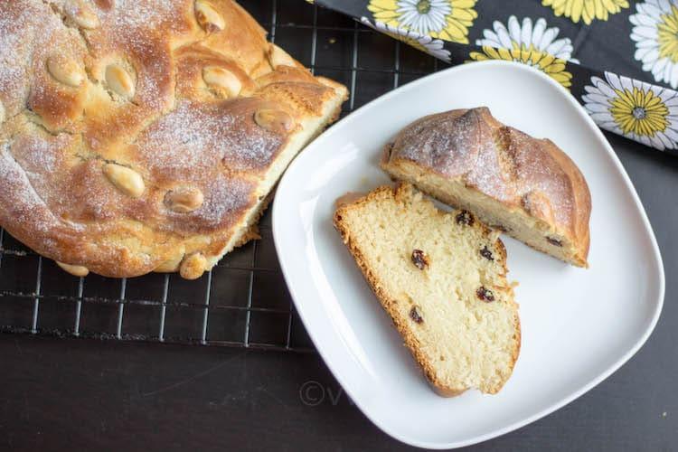 Eggless Vanocka   Czech Braided Bread