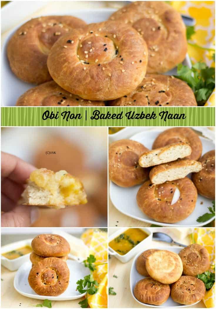 Baked Naan | Uzbek special Obi Non