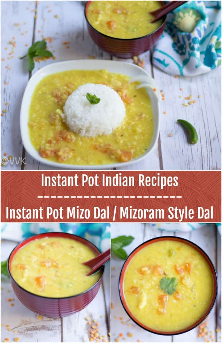 Instant Pot Mizo Dal