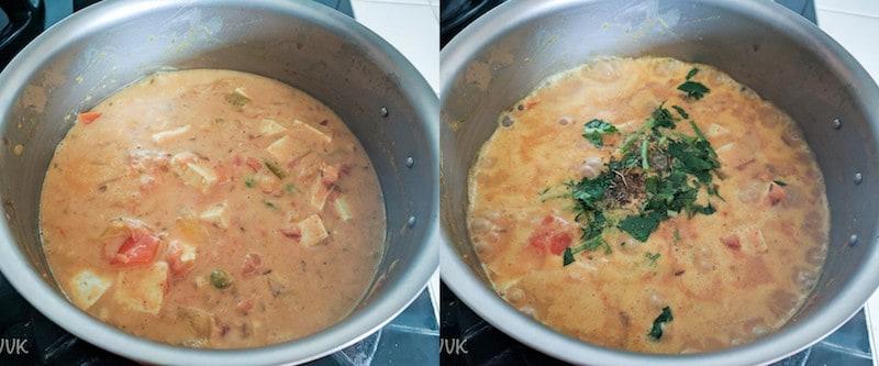 Vegan Tofu Tomato Curry