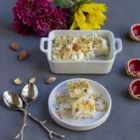 Instant Ricotta Cheese Kalakand | Microwave Kalakand Recipe