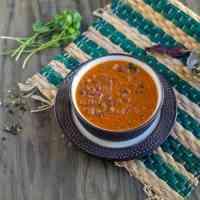 Vegan Red Kidney Beans Curry | Konkani Style Rajma Curry