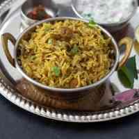 Bhatkal Biryani | Vegetarian Bhatkali Biryani