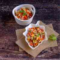 Barley Salad | Indian Kachumber Salad with Barley
