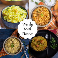 Indian Weekly Meal Planning | Weekly Meal Planner