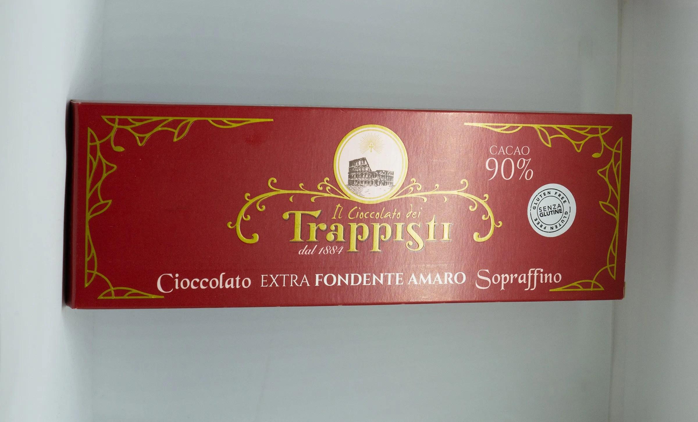 Cioccolato EXTRA fondente amaro sopraffino 90%