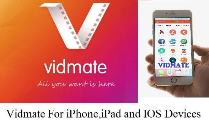 Download Vidmate For iPhone,iPad and IOS Devices