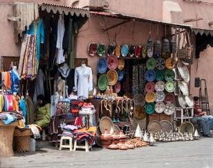 Marrakesh trgovina na ulici - Street market