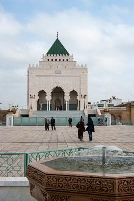 Rabat Mauzolej Muhameda V - Mausoleum of Mohammad V