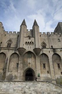 Avignon - Papinska palača - Papal Palace