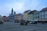 Česke Budejovice, glavni trg - Chesky Budejovice, Otakar II. Přemysl square