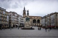 Vitoria, Plaza de la Virgen Blanca