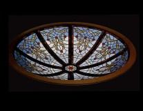 Fabricación de vidrieras de plomo para cúpulas
