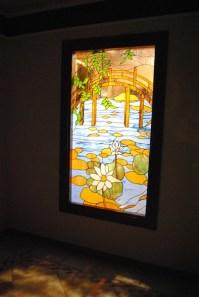 Cristal Tiffany para ventana