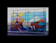 Fabricación de vidrios artísticos para Cerem
