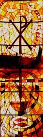 Fabricación de vidrieras emplomadas para iglesias
