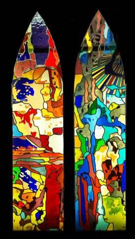 Diseño de vidrieras para iglesias