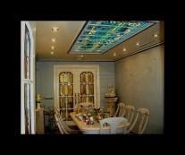 Fabricación de vidrieras Tiffany para puertas