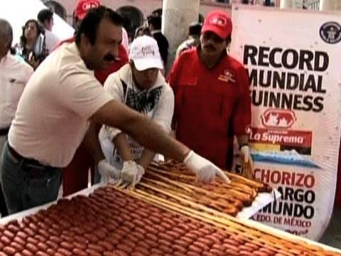 1 Kilometer Mexican Sausage