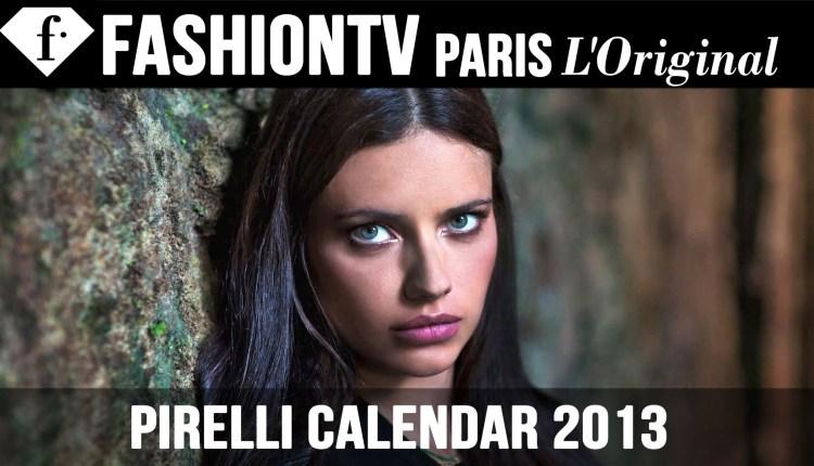 Adriana Lima, Karlie Kloss, Isabeli Fontana In Pirelli Calendar