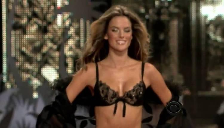 Alessandra Ambrosio's Victoria's Secret Runway Compilation