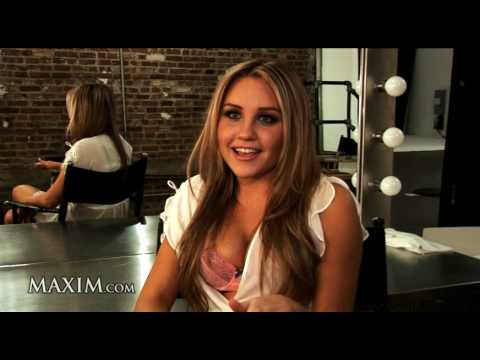 Amanda Bynes Shoots For The Maxim Cover