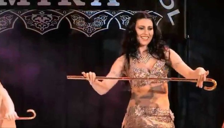 Amazing Arabic Stick Belly Dance