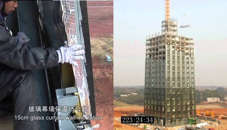 Building A 30 Story Hotel In 15 Days