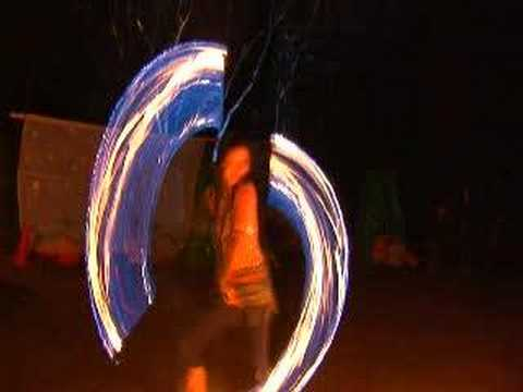 Captivating Fire Dance