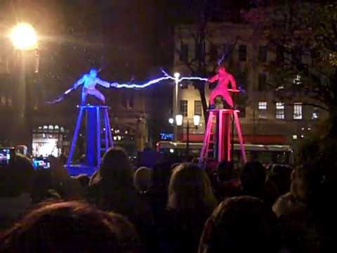 Electricity Fight Performed By The Lords Of Lightning