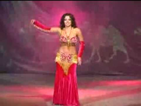 Great Belly Dancer Alla Kushnir On Stage