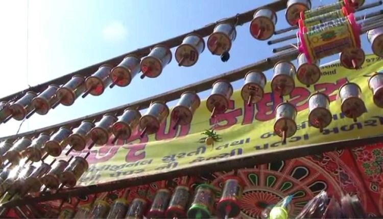 International Kite Flying Festival in Ahmedabad
