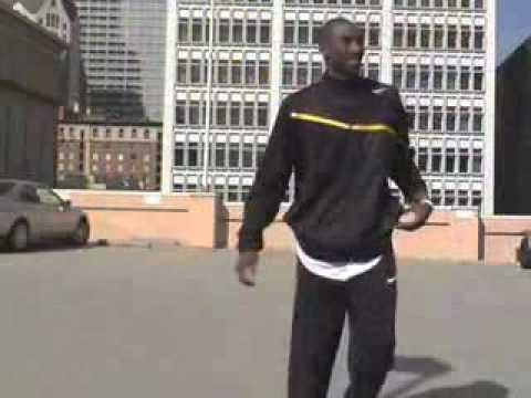 Kobe Jumps Over A Moving Aston Martin Car