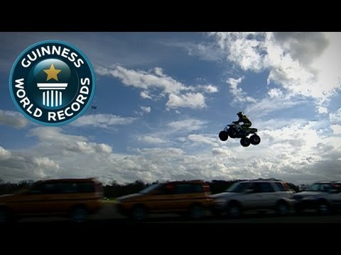 Longest Moving Quad Bike Jump